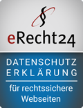 Siegel eRecht 24 Datenschutzerklärung